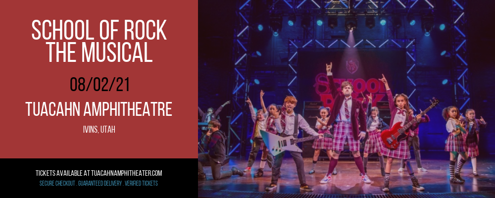 School Of Rock - The Musical at Tuacahn Amphitheatre
