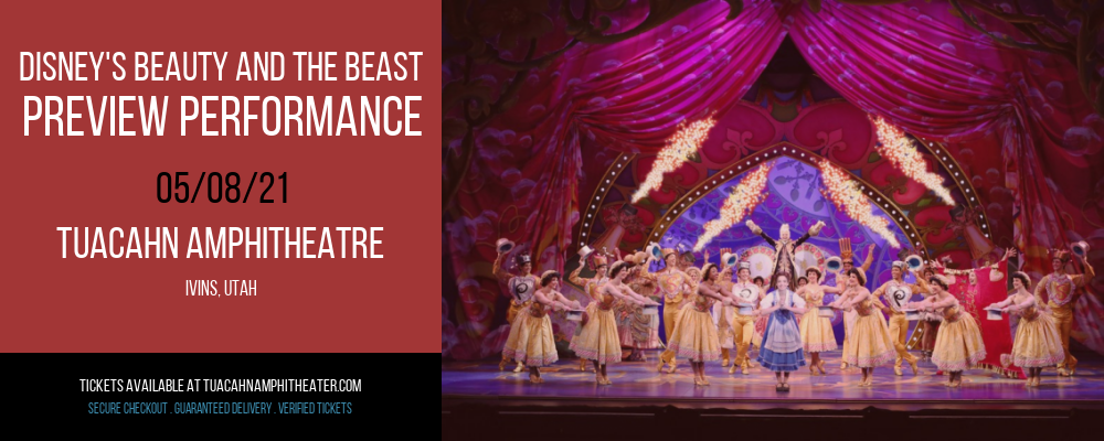 Disney's Beauty and The Beast - Preview Performance at Tuacahn Amphitheatre
