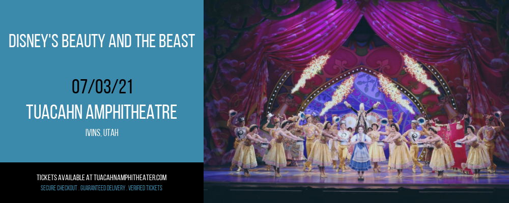 Disney's Beauty and The Beast at Tuacahn Amphitheatre