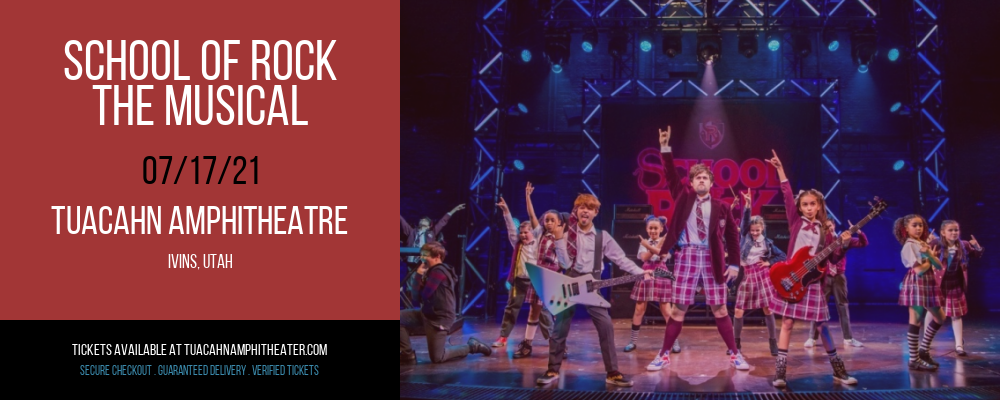 School Of Rock - The Musical - Preview Performance at Tuacahn Amphitheatre